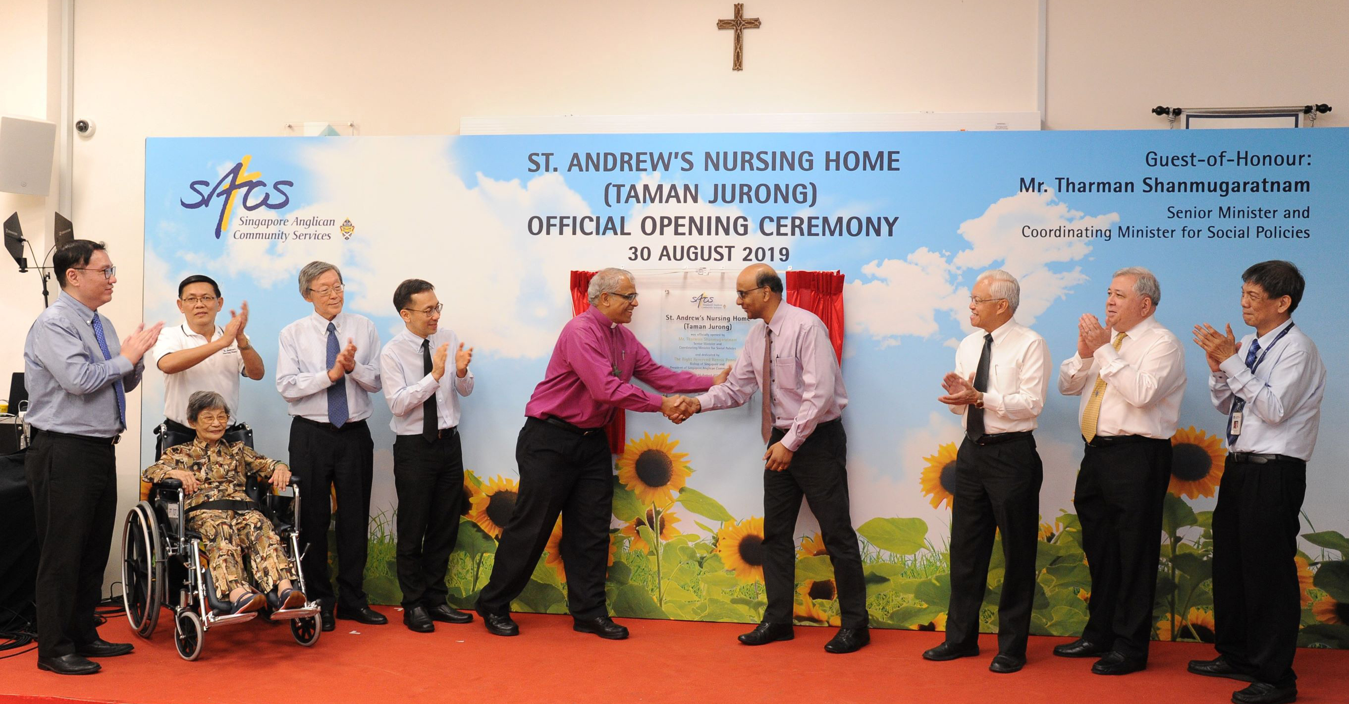 20190830_SANH_TJ_Opening A Day of Thanksgiving for St. Andrew's Nursing Home (Taman Jurong)